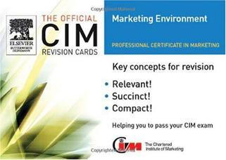 کارتهای مرور CIM: محیط بازاریابی ۲۰۰۵-۲۰۰۶