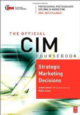 کتاب درسی CIM: تصمیمات راهبردی بازاریابی ۲۰۰۶-۲۰۰۷