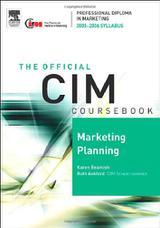 کتاب درسی CIM: برنامهریزی بازاریابی ۲۰۰۵-۲۰۰۶