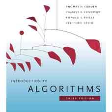 مقدمه ای بر الگوریتم ها (کورمن، لیسریون، ریوست و استین) (ویرایش سوم 2009)