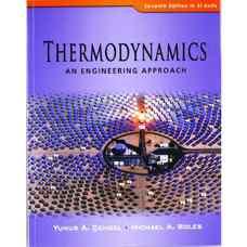 ترمودینامیک: رویکردی مهندسی (سنجل و بولز) (ویرایش هفتم 2010)