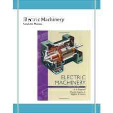 حل المسائل ماشین های الکتریکی (فیتزجرالد، کینگزلی و اومانس) (ویرایش ششم 2002)