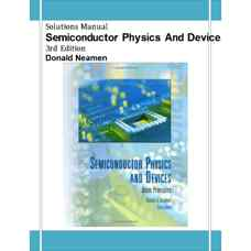 حل المسائل قطعات و فیزیک نیمه رسانا (نیمن) (ویرایش سوم 2002)