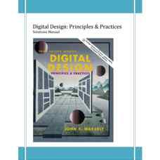 حل المسائل طراحی دیجیتال: اصول و روش ها (واکرلی) (ویرایش سوم 2000)