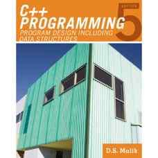 برنامه نویسی ++C: طراحی برنامه و ساختمان داده ها (دی. اس. مالیک) (ویرایش پنجم 2010)