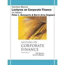 حل المسائل درس هائی در مالی شرکت (بوسارتس و دگارد) (ویرایش اول 2006)