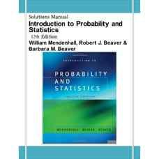 حل المسائل مقدمه ای بر احتمال و آمار (مندنهال، بیور و بیور) (ویرایش دوازدهم 2005)