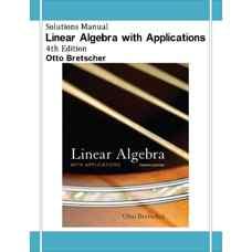 حل المسائل جبر خطی به همراه کاربردها (برچر) (ویرایش چهارم 2008)