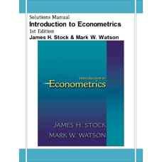 حل المسائل مقدمه ای بر اقتصادسنجی (استوک و واتسون) (ویرایش اول 2002)