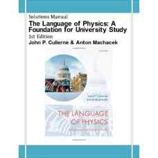 حل المسائل زبان فیزیک: پایه ای برای تحصیلات دانشگاهی (کالرن و ماچاسک) (ویرایش اول 2008)