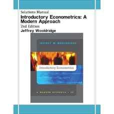 حل المسائل اقتصادسنجی مقدماتی: رویکردی مدرن (وولدریج) (ویرایش دوم 2002)