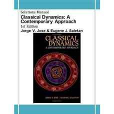 حل المسائل دینامیک کلاسیک (ژوزه و سالتان) (ویرایش اول 1998)