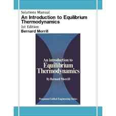 حل المسائل مقدمه ای بر ترمودینامیک تعادلی (موریل) (ویرایش اول 1972)