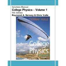 حل المسائل فیزیک دانشگاهی - جلد اول (سروی و وویل) (ویرایش نهم 2011)
