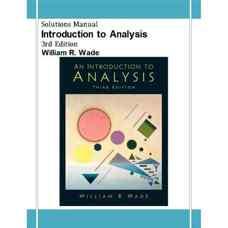 حل المسائل مقدمه ای بر آنالیز (وید) (ویرایش سوم 2003)