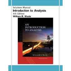 حل المسائل مقدمه ای بر آنالیز ریاضی (وید) (ویرایش چهارم 2009)