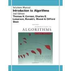 حل المسائل مقدمه ای بر الگوریتم ها (کورمن، لیسرسون، ریوست و استین) (ویرایش دوم 2001)