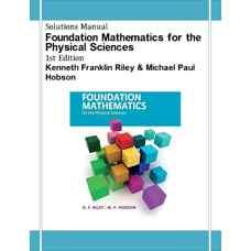 حل المسائل ریاضیات پایه برای علوم طبیعی (رایلی و هابسون) (ویرایش اول 2011)