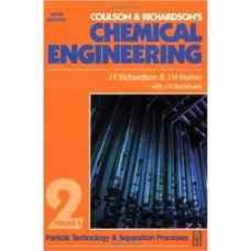 مهندسی شیمی کولسون و ریچاردسون - جلد 2: فناوری ذره و فرآیندهای جداسازی (ریچاردسون، هارکر و بکهرست) (ویرایش پنجم 2002)