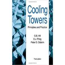 برج های خنک کننده: اصول و کاربردها (هیل، پرینگ و اوسبورن) (ویرایش سوم 1990)