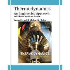حلالمسائل ترمودینامیک: رویکردی مهندسی (سنجل و بولر) (ویرایش هشتم 2014)