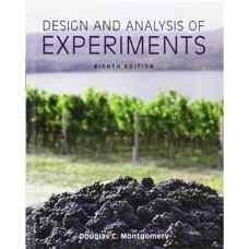 طراحی و تحلیل آزمایش ها (مونتگومری) (ویرایش ششم 2012)