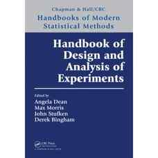 هندبوک طراحی و تحلیل آزمایش ها (دین، موریس، استافکن و بینگهام) (ویرایش اول 2015)