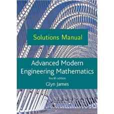 حل المسائل ریاضیات مهندسی پیشرفته مدرن (جیمز، بارلی، کلمنتس، دایک، سیرل، استیل و رایت) (ویرایش چهارم 2010)