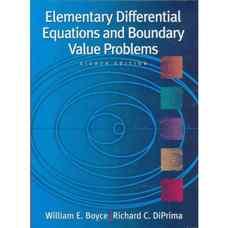 معادلات دیفرانسیل مقدماتی و مسائل مقدار مرزی (بویس و دیپریما) (ویرایش هشتم 2004)