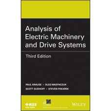 تجزیه و تحلیل ماشین های الکتریکی و سیستم های درایو (کراوس، واسینچوک، سودوف و پکارک) (ویرایش سوم 2013)