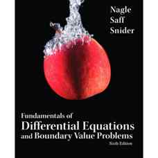 مبانی معادلات دیفرانسیل و مسائل مقدار مرزی (نیجل، سف و دیوید اسنایدر) (ویرایش ششم 2011)