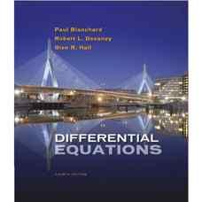 معادلات دیفرانسیل (بلانچارد، دوانی و هال) (ویرایش چهارم 2010)