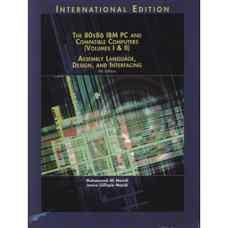 80X86 IBM PC و کامپیوترهای سازگار: زبان اسمبلی، طراحی و اتصالات - جلد یک و دو (مزیدی و مزیدی) (ویرایش چهارم 2002)