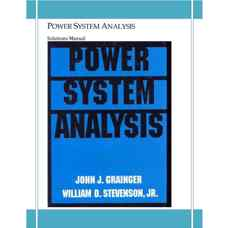 حل المسائل بررسی سیستم های قدرت (گرینگر و استیونسون) (ویرایش اول 1994)
