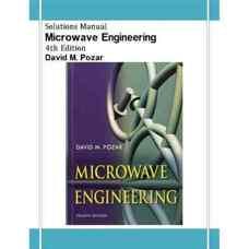 حل المسائل مهندسی مایکروویو (پوزار) (ویرایش چهارم 2011)
