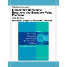 حل المسائل معادلات دیفرانسیل مقدماتی و مسائل مقدار مرزی (بویس و دیپریما) (ویرایش دهم 2012)