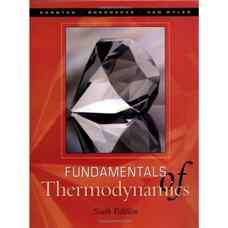 اصول ترمودینامیک (سونتاگ، بورگناک و ون وایلن) (ویرایش ششم 2002)
