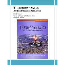 حل المسائل ترمودینامیک: رویکردی مهندسی (سنجل و بولز) (ویرایش هفتم 2010)