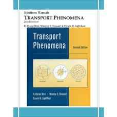 حل المسائل پدیده های انتقال (بیرد، استوارت، لایتفوت) (ویرایش دوم 2002)