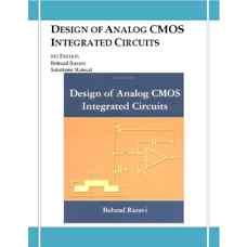 حل المسائل طراحی مدارهای مجتمع CMOS آنالوگ (رضوی) (ویرایش اول 2001)