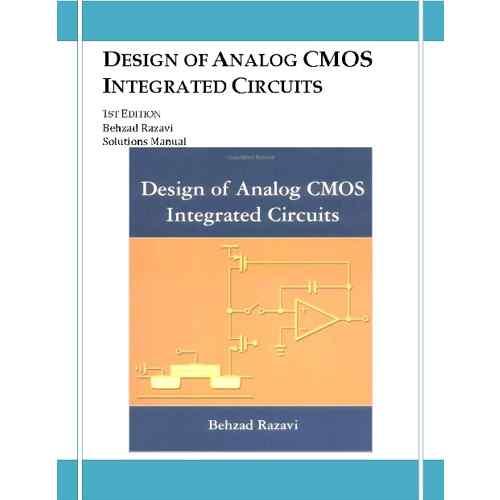 دانلود کتاب الکترونیکی حل المسائل طراحی مدارهای مجتمع Cmos