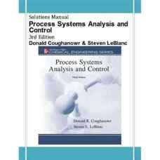 حل المسائل آنالیز و کنترل سیستم های فرآیند (کاگناور و لوبلان) (ویرایش سوم 2008)