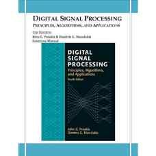 حل المسائل پردازش سیگنال های دیجیتال (پروکیس و مانولاکیس) (ویرایش چهارم 2006)