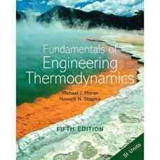 اصول ترمودینامیک مهندسی (موران و شاپیرو) (ویرایش پنجم 2003)