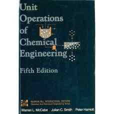 عملیات واحد مهندسی شیمی (مک کیب، اسمیث و هاریوت) (ویرایش پنجم 1994)