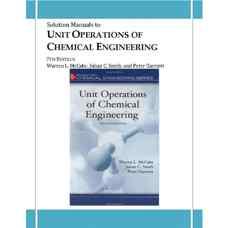 حل المسائل عملیات واحد مهندسی شیمی (مک کیب، اسمیث و هاریوت) (ویرایش هفتم 2005)
