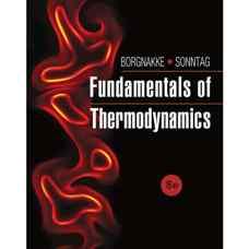 اصول ترمودینامیک (بورگناک و سونتاگ) (ویرایش هشتم 2012)