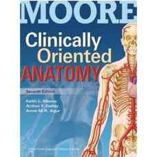 آناتومی بالینی (مور، اگور و دالی) (ویرایش هفتم 2013)
