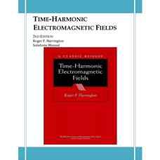 حل المسائل میدان های الکترومغناطیسی متناوب (هرینگتون) (ویرایش دوم 2001)