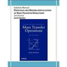 حل المسائل اصول و کاربردهای مدرن عملیات انتقال جرم (بنیتز) (ویرایش دوم 2009)